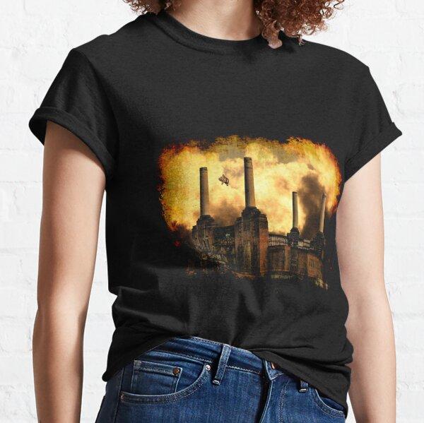 Schweine auf dem Flügel Classic T-Shirt
