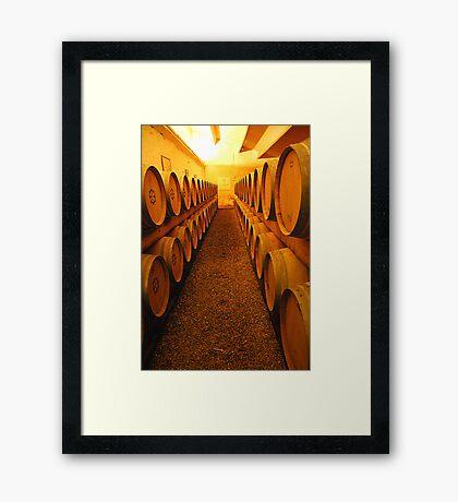 Barrels of France's finest Framed Print