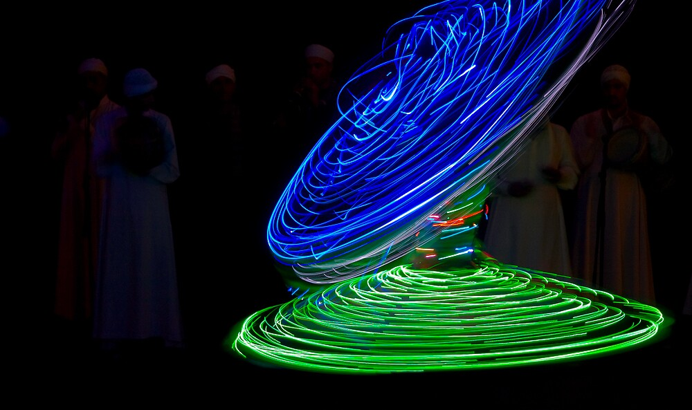 Whirling Dervish 3 by Andre Roberts