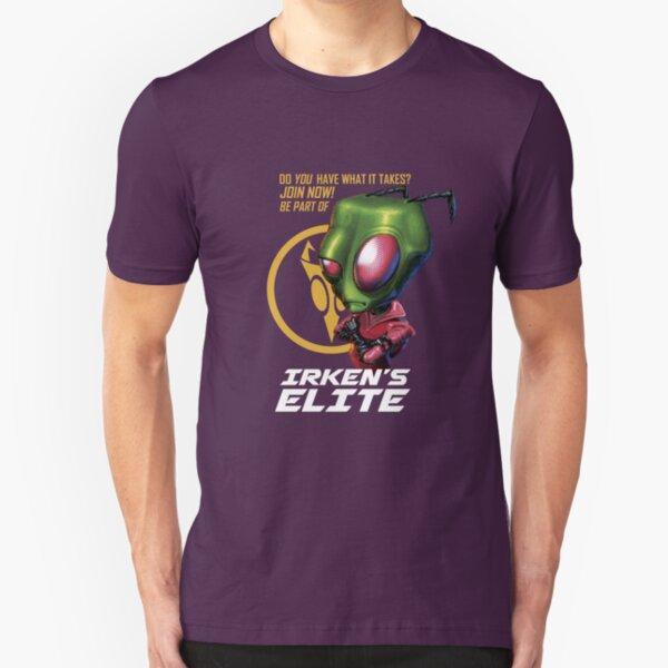 Invader Zim - Irken's Elite Slim Fit T-Shirt