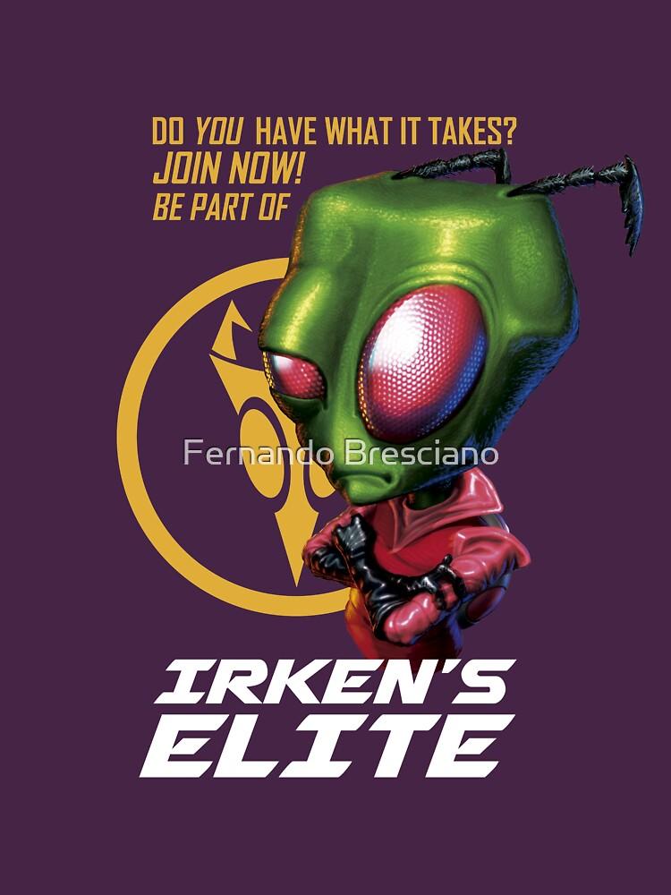 Invader Zim - Irken's Elite by fbresciano