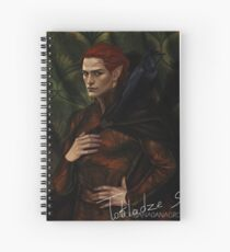 Prince Rook Spiral Notebook