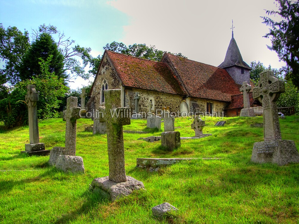 The Church of St.Nicholas Pyford - HDR  by Colin  Williams Photography
