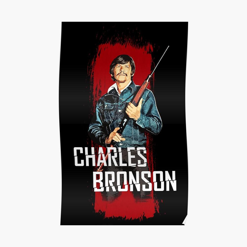 Quot Charles Bronson Mr Majestyk Quot Poster By Adriangemmel