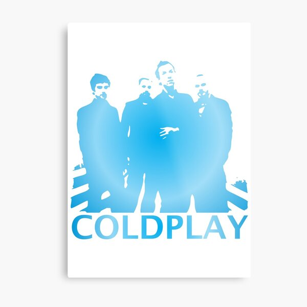 Cold Play Merchandise Metal Print