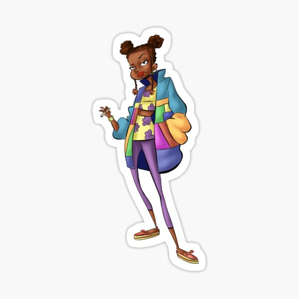Rugrats: All Glowed Up - Susie Carmichael Sticker
