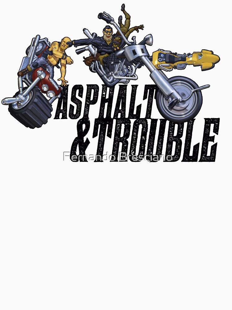 Asphalt & Trouble - Light by fbresciano