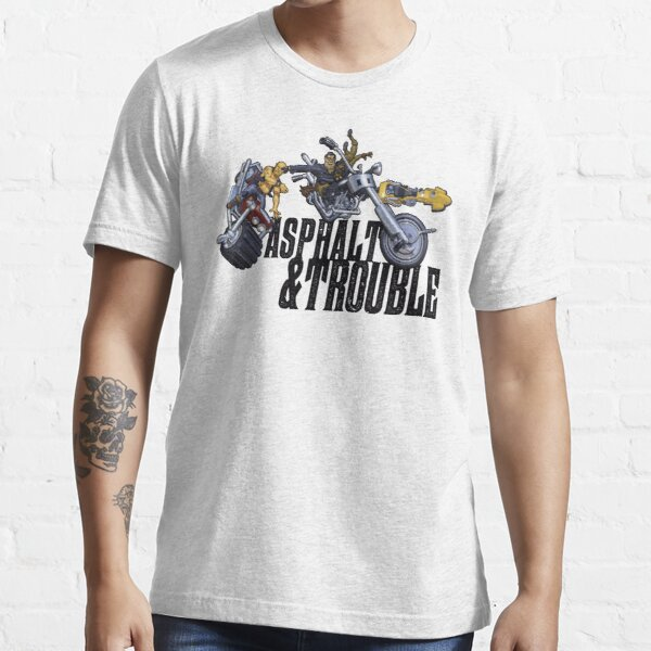 Asphalt & Trouble - Light Essential T-Shirt
