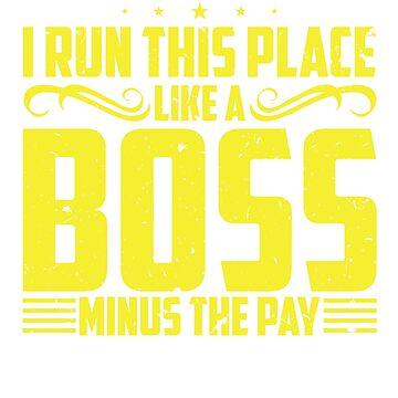 Boss Shirt, Boss Shirt For Women, Boss Gift, Boss Gift For Women, Like A Boss, Like A Boss Shirt, Like A Boss Gift, Manager Shirt by mikevdv2001