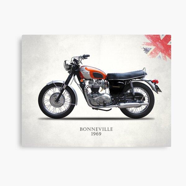 Bonneville T120 1969 Canvas Print