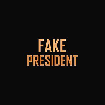 Fake president - orange by yanafs