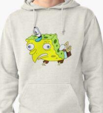 Mocking Spongebob Pullover Hoodie
