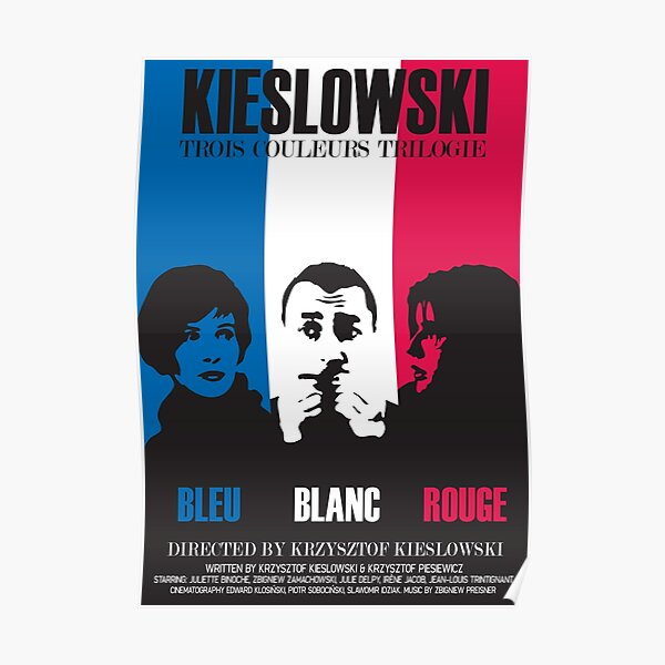 Three Colours Trilogy Poster