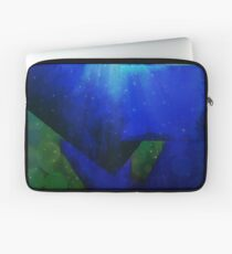 Shapes in Abstract Under The Sea Laptop Sleeve