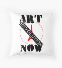 Viva la Art Revolution Throw Pillow
