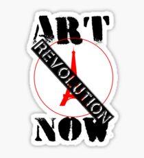 Viva la Art Revolution Sticker
