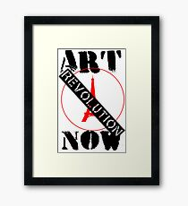 Viva la Art Revolution Framed Print