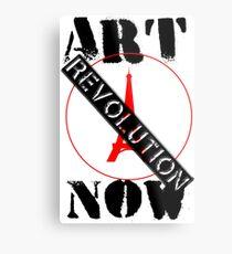 Viva la Art Revolution Metal Print