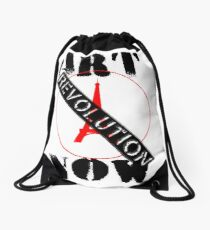 Viva la Art Revolution Drawstring Bag