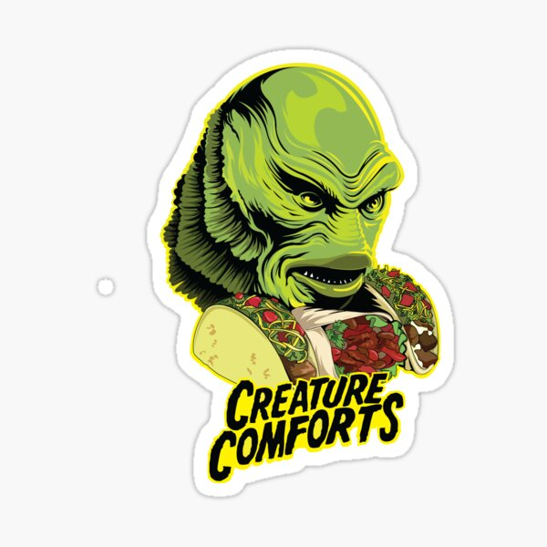 CREATURE COMFORTS Sticker