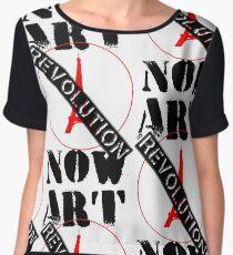 Viva la Art Revolution Chiffon Top