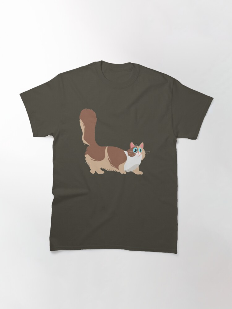 Alternate view of Adorable Munchkin Cat Gifts Classic T-Shirt