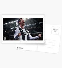 Cristiano Ronaldo Juve CR7 Postcards