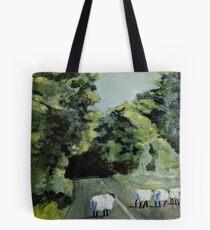 Sheep in Ireland Tote Bag