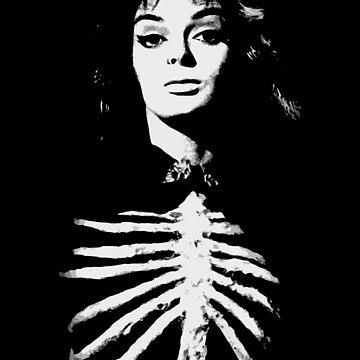 Barbara Steele - Queen of Horror by adriangemmel