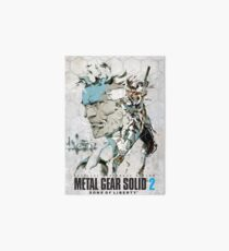 Metal Gear Affiche solide Impression rigide