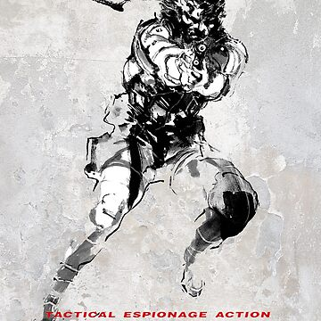 Metal Gear Solid Poster by PFCpatrickC