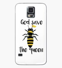 God Save the Queen Bees Case/Skin for Samsung Galaxy
