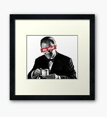 Mr. Wolf Pulp Fiction Framed Print