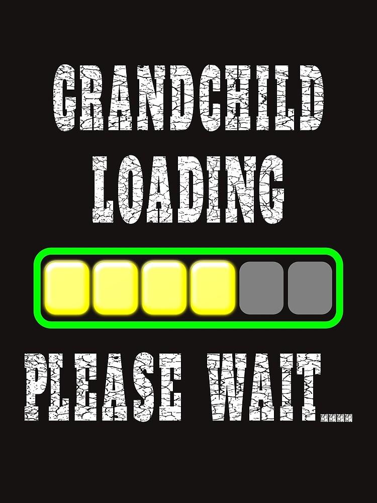 Enkelkind wird geladen Bitte warten von troy1969
