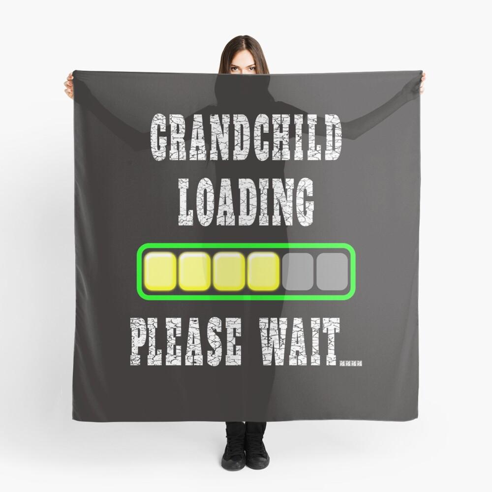 Enkelkind wird geladen Bitte warten Tuch