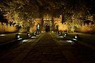 Durham Castle Entrance by David Lewins