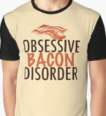 Obsessive Bacon Disorder Graphic T-Shirt