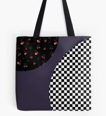 Mod cherries Tote Bag