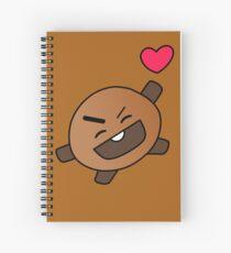 Shooky Spiral Notebook