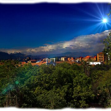 South Cuenca Skyline From Calle Larga by alabca