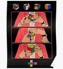 Harry Styles Live on Tour Rubiks Cube Poster