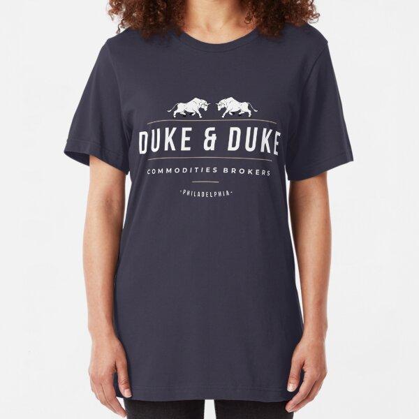 Duke & Duke - Commodities Brokers Slim Fit T-Shirt