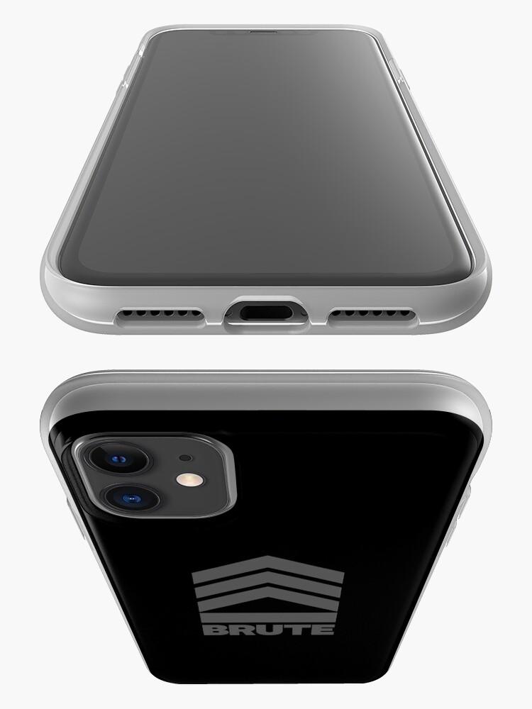 Alternate view of Brute Logo iPhone Case & Cover