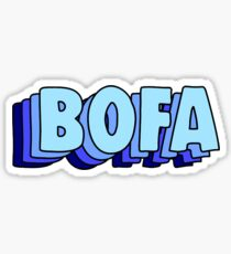 bofa Sticker