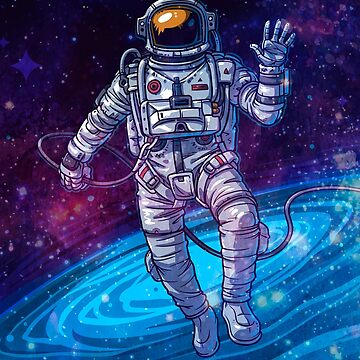 Astronaut in Space by rott515