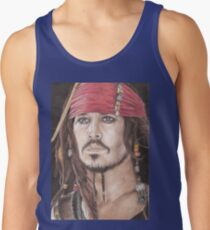 Captain Jack Sparrow Tank Top