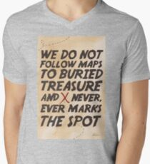 We Do Not Follow Maps Men's V-Neck T-Shirt