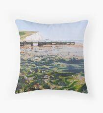 Seaweed and Salt Water Throw Pillow