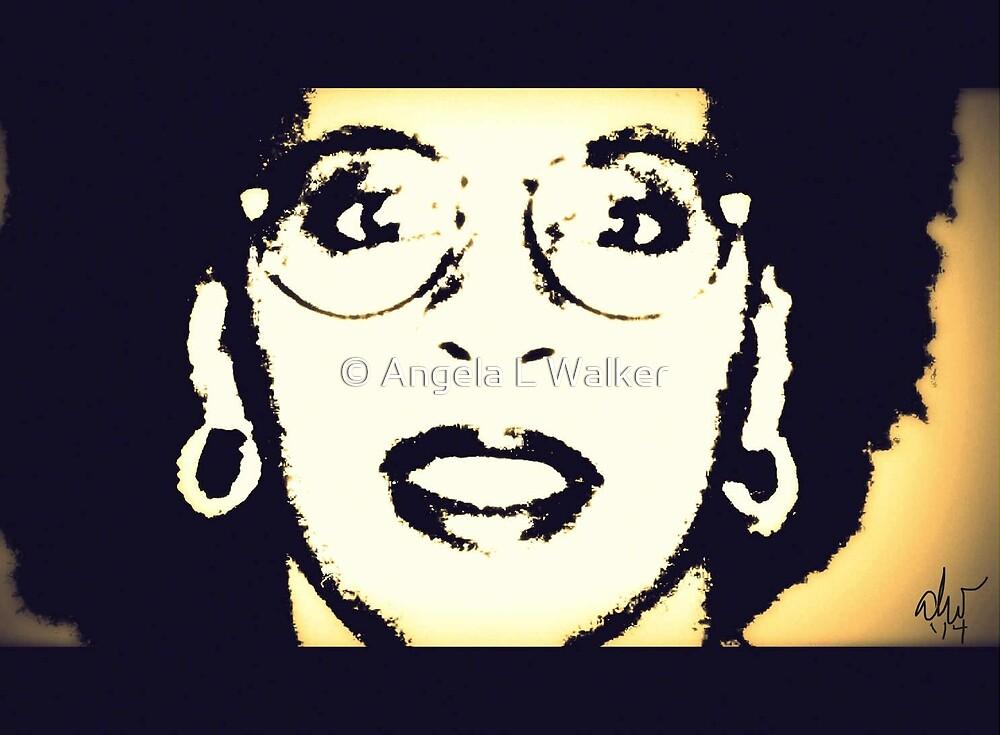 Afro Woman by © Angela L Walker