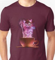 Camiseta unisex Cheshire Cat Niebla